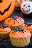 halloween cupcakes arañas