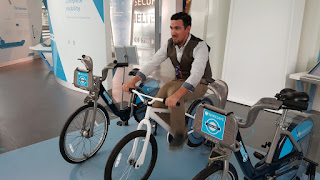 Cycling to power your home at the Crystal London