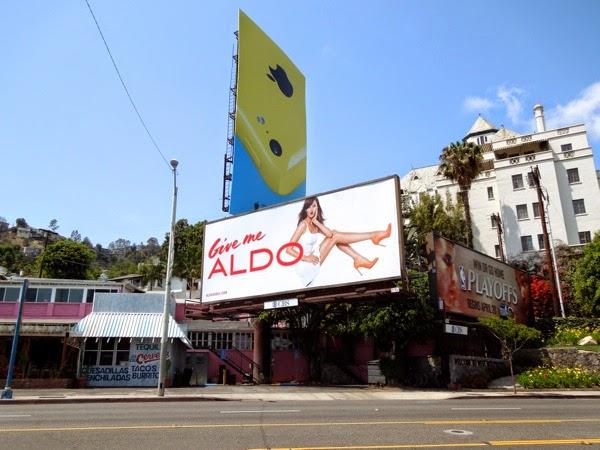 Give me Aldo Shoes billboard