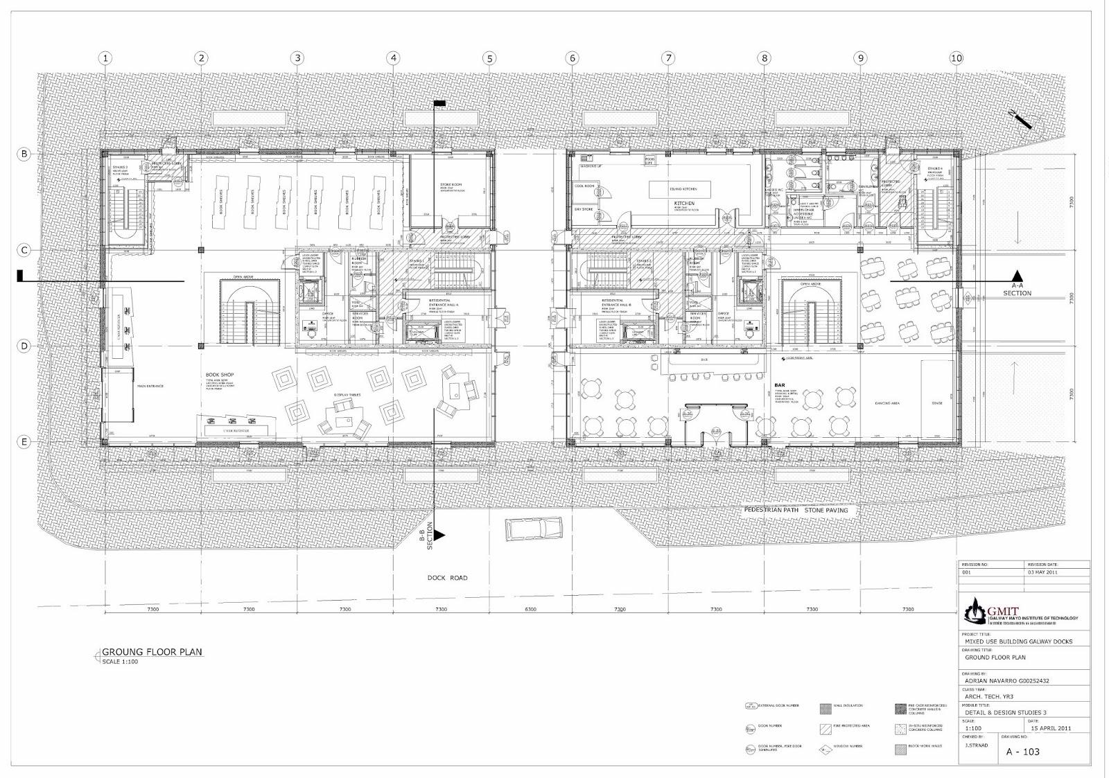 Navarro Architect Technologist Project 04 Galway Docks