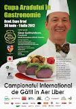 Cupa Aradului in Gastronomie 2012