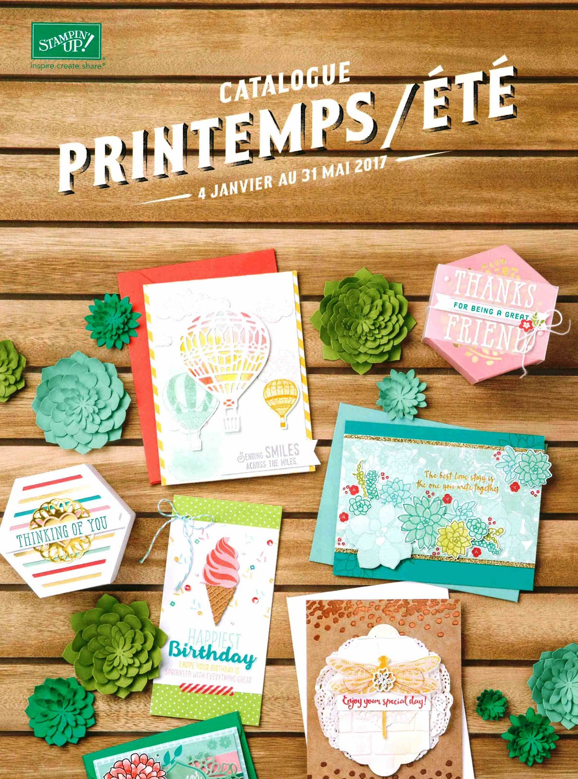 Catalogue Printemps Ete 2017 !