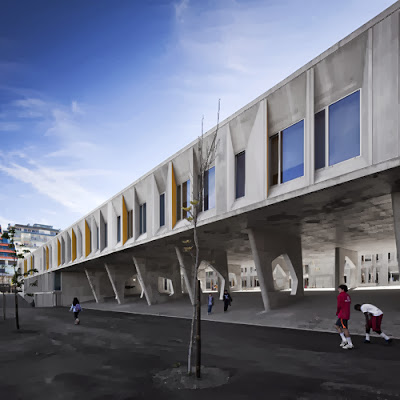 Braamcamp Freire Secondary School in Lisbon by CVDB Arquitectos