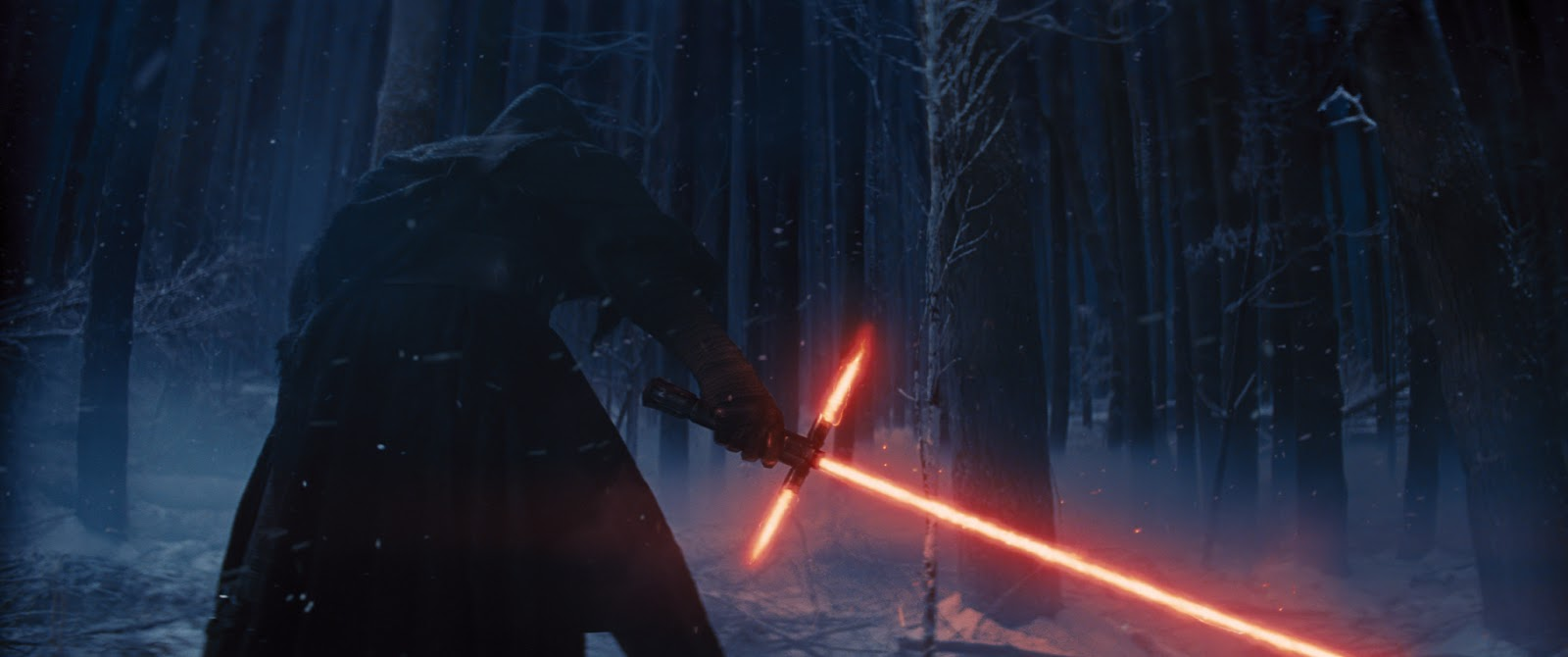 Star Wars: The Force Awakens Darth Vader with cross Light Sabre