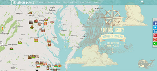 Maps mania how to create vintage looking google maps the google maps api styled maps option allows developers to customize the colors of different features on the map gumiabroncs Gallery