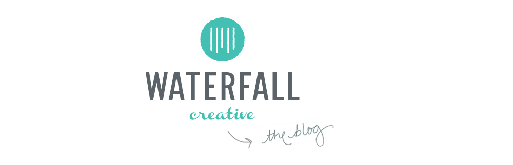 Waterfall Creative blog style