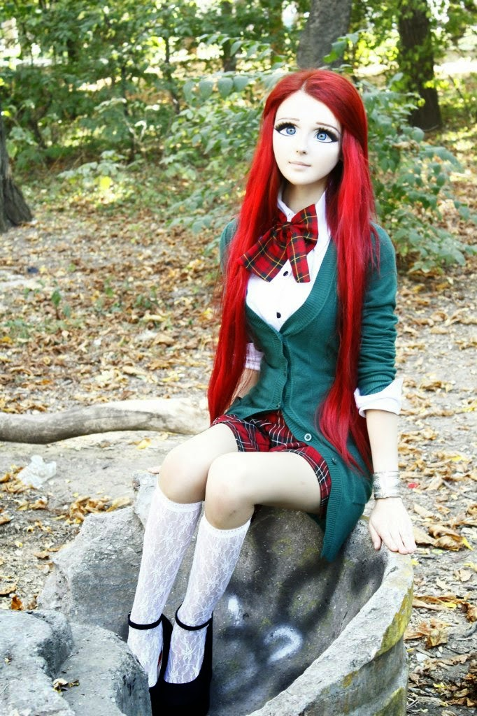 Anastasiya si cewek anime