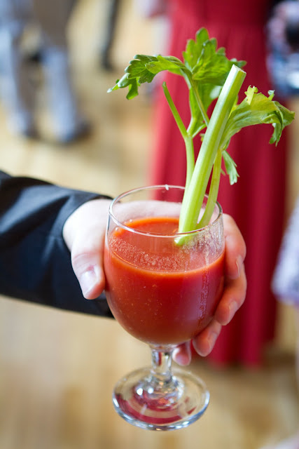 Wedding Brunch Reception - Bloody Mary Cocktail - Photo Courtesy of Brian Samuels Photography