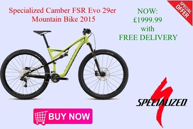 2015 Mountain Bike: Specialized Camber FSR Evo 29er