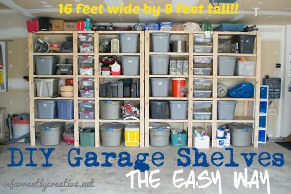 Day 30 Garage Organizers 31 Cheap Easy Diy Organizers