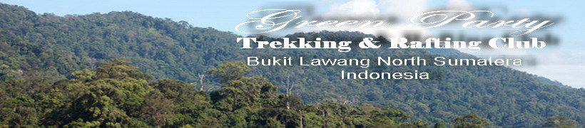 Green  Party Trekking  & Rafting Club Bukit Lawang North Sumatera  Indonesia