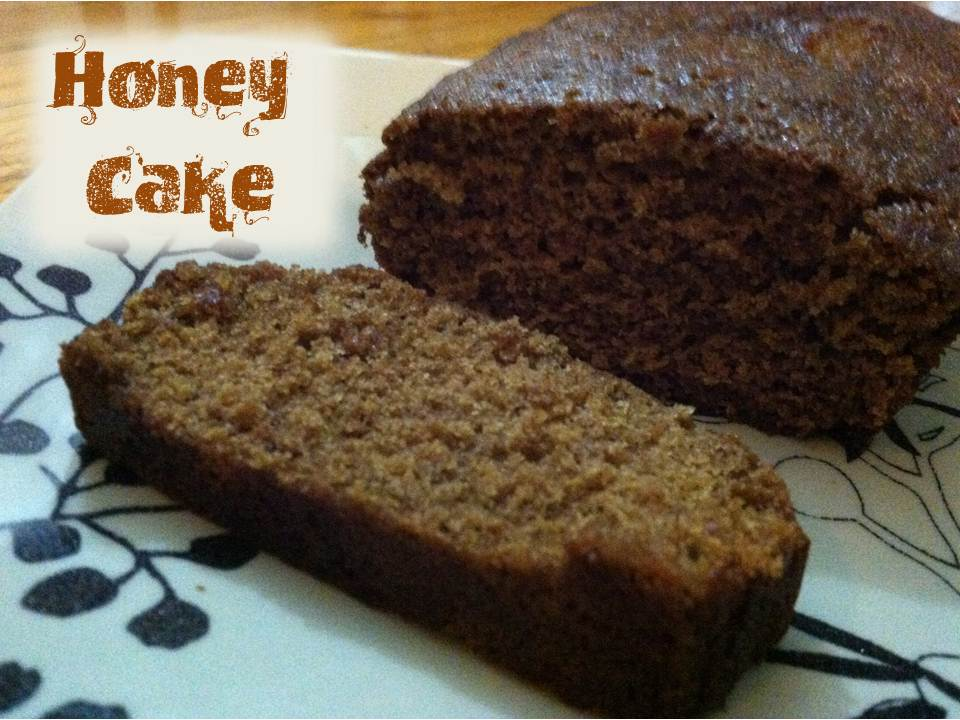 Julie Vision in the Kitchen: Honey Cake