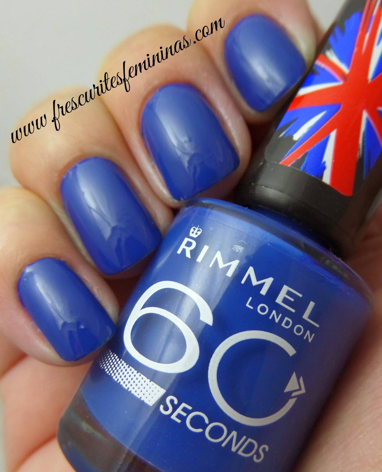 Rimmel, London, 60, seconds, blue, my, mind, frescurites, femininas, blue, nails, esmalte, polish