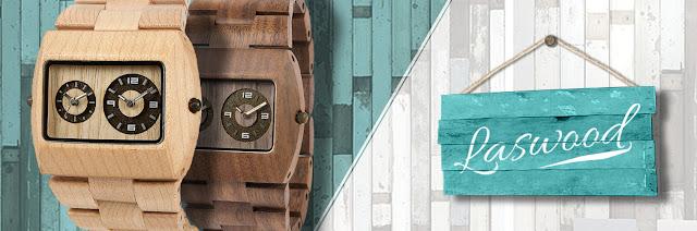Nuevo Complemento: Relojes de Madera