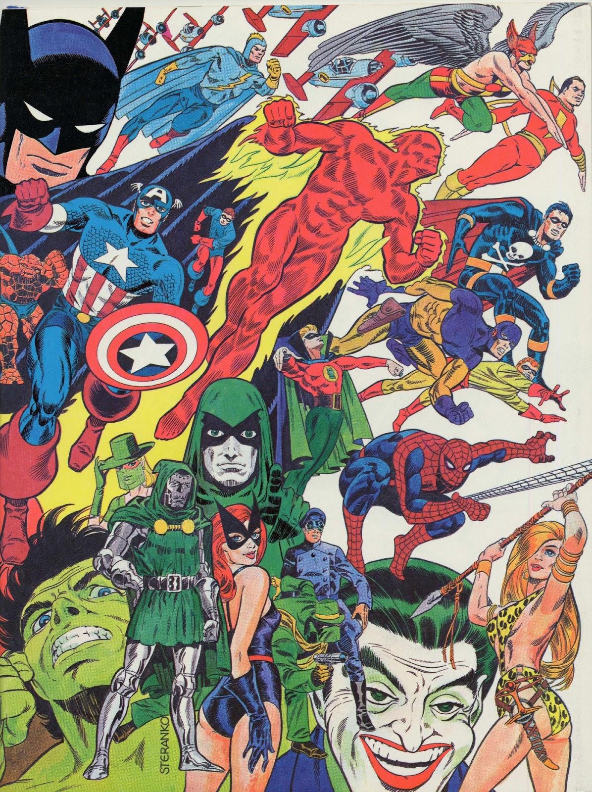 Cap'n's Comics: The History of Comics by Jim Steranko