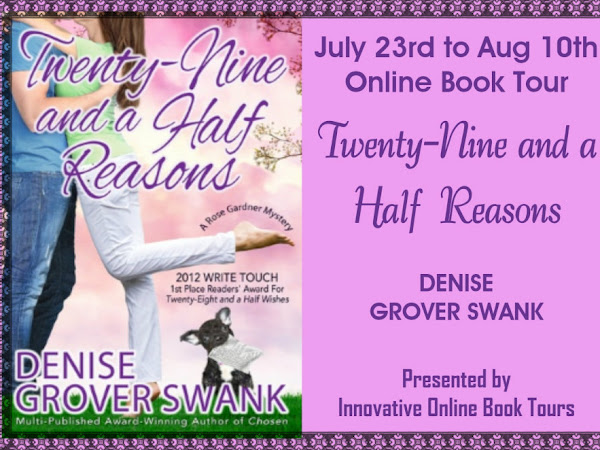 (Guest Post) Twenty-Nine and a Half Reasons by Denise Grover Swank