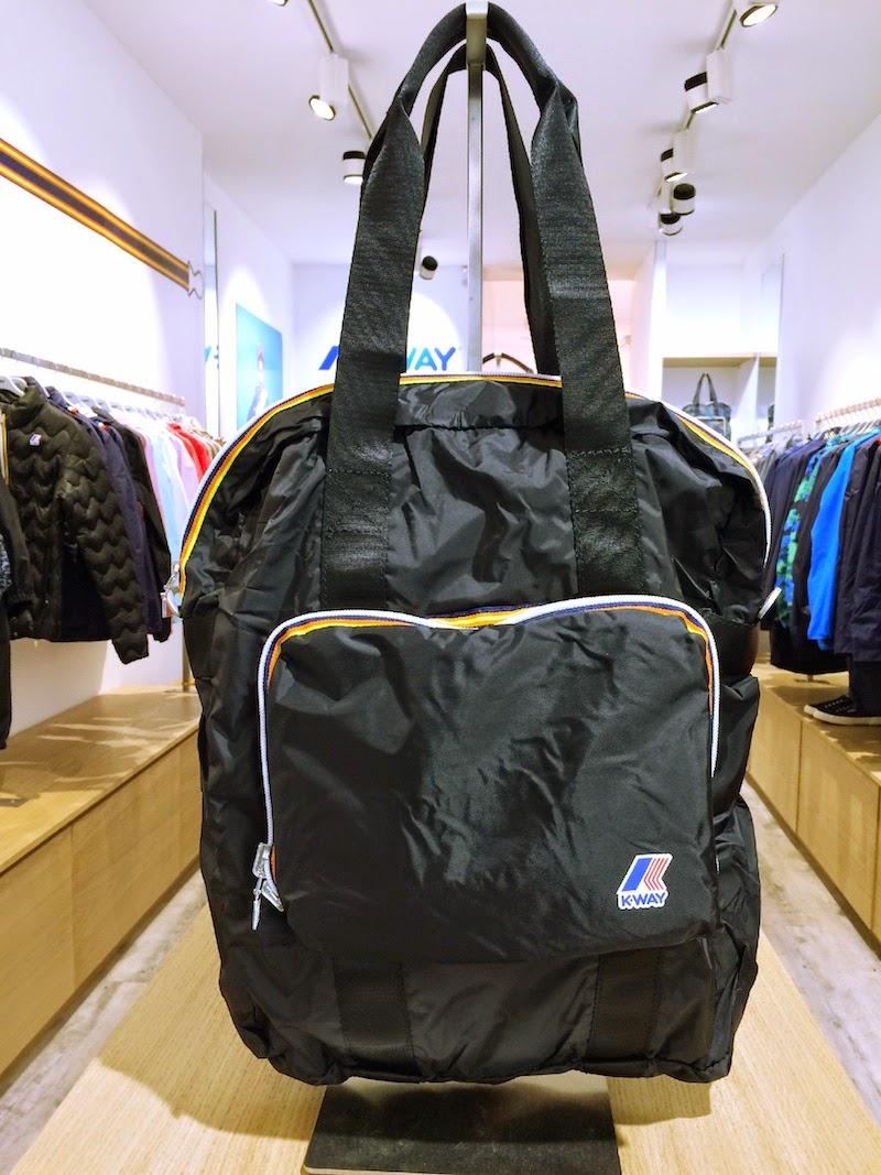 sac a dos boutique K-way bordeaux