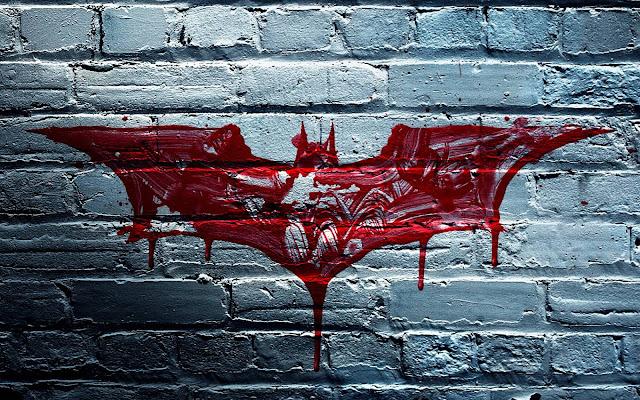 Batman Logo On Wall