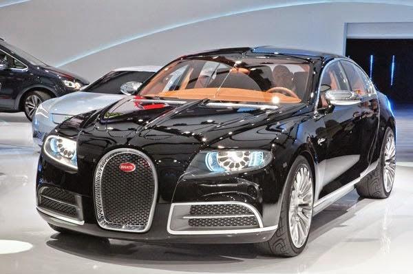 Bugatti Galibier Front View Image