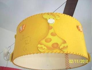 Manualidades lamparas para habitacion de bebes for Lamparas habitacion bebe