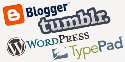 3 Pilihan Platfrom Untuk Memulai Blogging