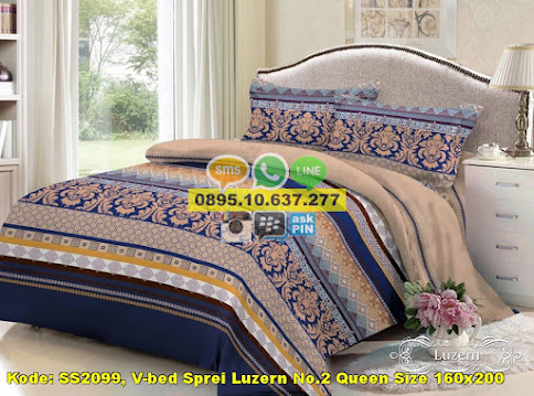 V-bed Sprei Luzern No.2 Queen Size 160x200