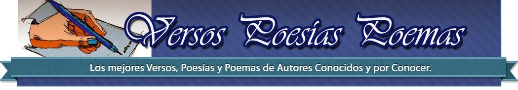 Versos Poesías Poemas