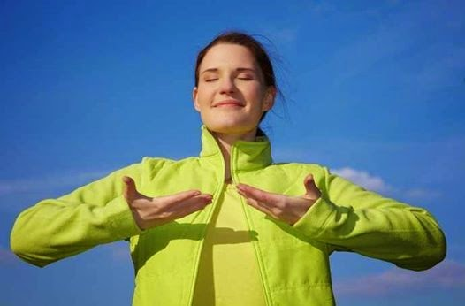 تمرين التنفس للتغذية الذاتية
