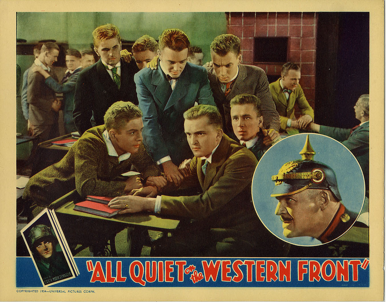 the theme displayed in the novel all quiet on the western front Please purchase a copy of all quiet on the western front by erich maria remarque (isbn 0-449- 21394-3) and read the book in its entirety before the first day of classes in the fall 2.
