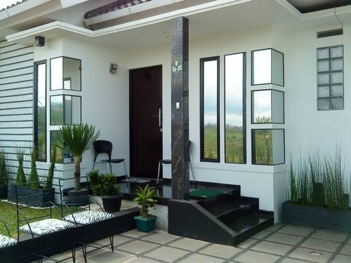 Model teras rumah minimalis modern beserta gambar teras rumah ...