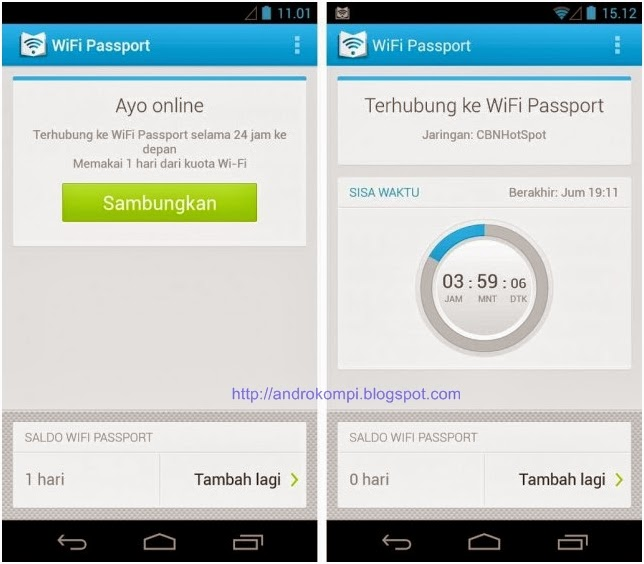 layanan Wifi Passport ini eksklusif