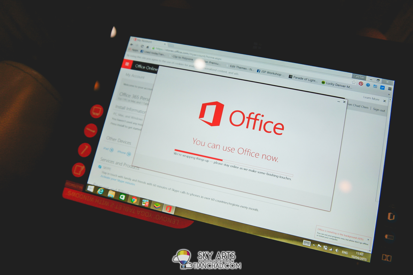 Microsoft Office for your Lenovo Yoga Tablet 2 with Windows