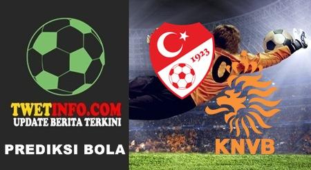 Prediksi Score Turkey U21 vs Netherlands U21 08-09-2015