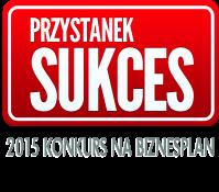 Logo konkursu Przystanek Sukces