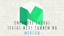 #EuTôNoMedium