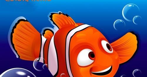 Girotondo di bimbi disegni nemo da colorare for Pesce nemo da colorare