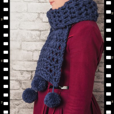Buy the pattern and kit to make my Super Scarf