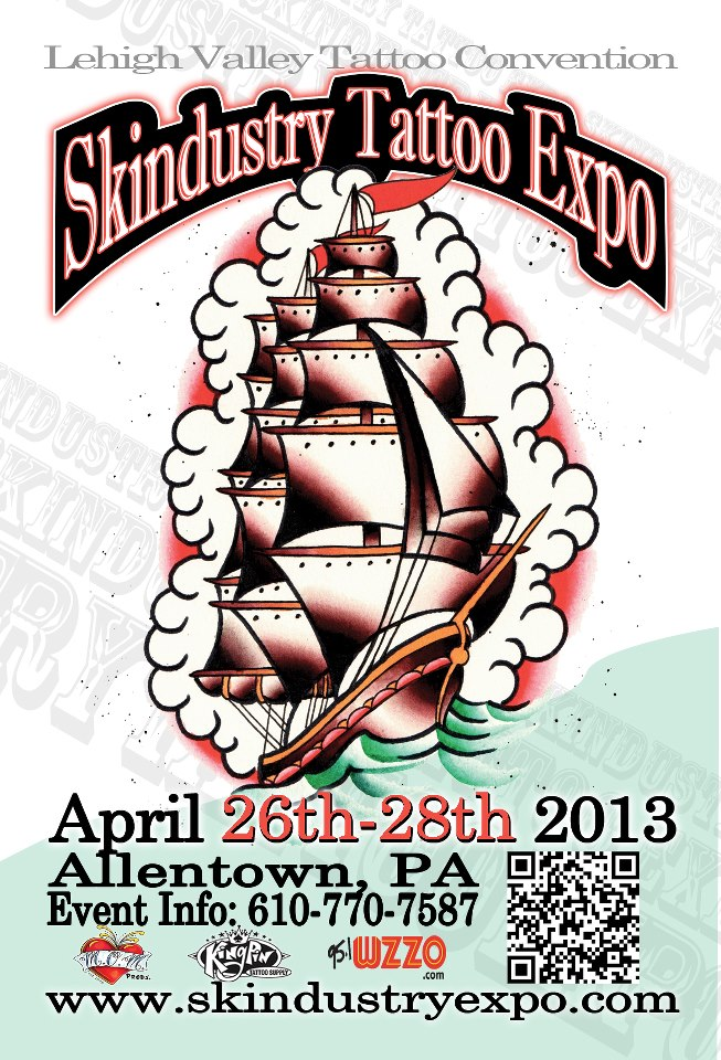 Frank foe utng radio approved events listing as of 3 29 13 for Tattoo convention pa