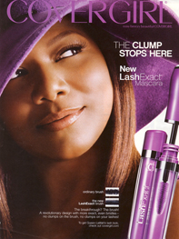cover girl ad for mascara