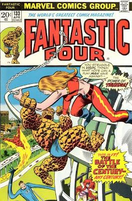 Fantastic Four #133, Thundra