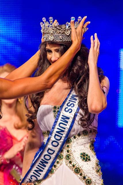 Miss World Mundo Dominican Republic 2013 winner Joely Bernat