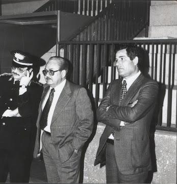 1973 - Con il comandante dei carabinieri e con il V. Questore