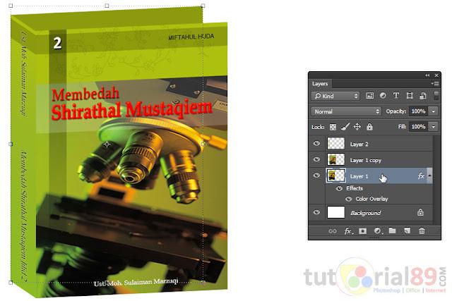 Cara membuat cover ebook 3D dengan photoshop