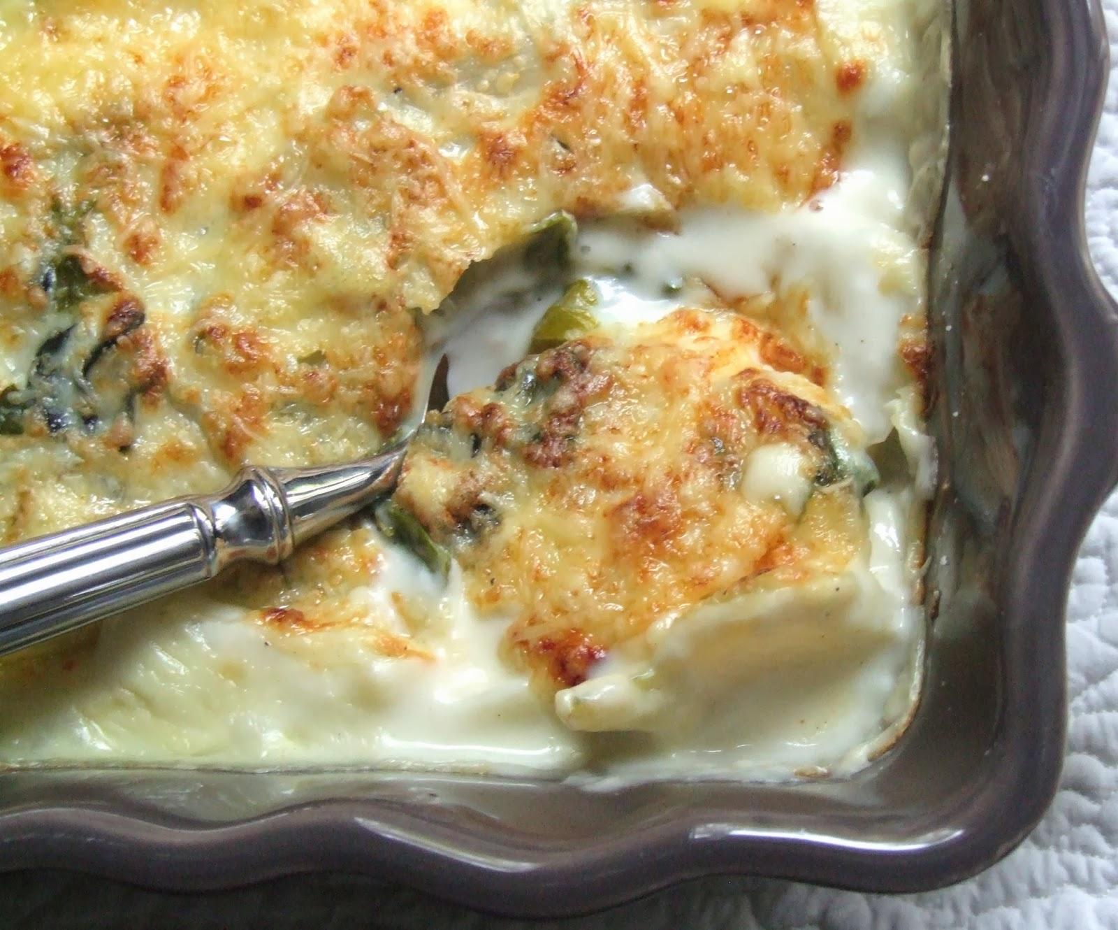 Cooking julia gratin de blettes - Comment cuisiner les cotes de blettes ...