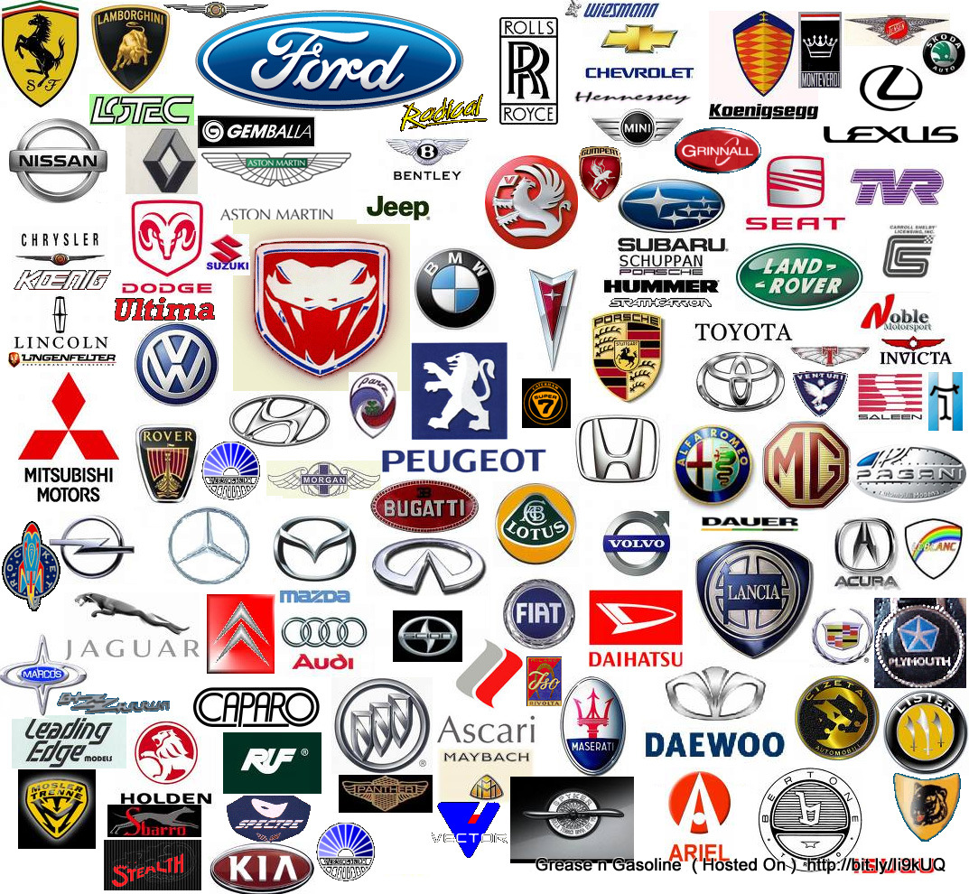 Logo car accessories luxury cars