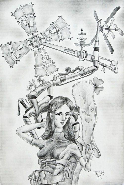 La Mujer del año 2080. / Die Frau vom der Jahr 2080.