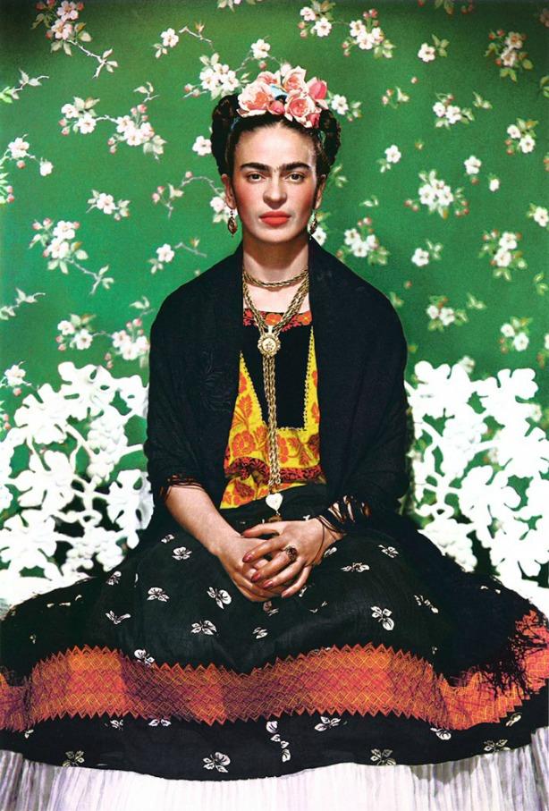Fantasia improvisada da Frida Kahlo