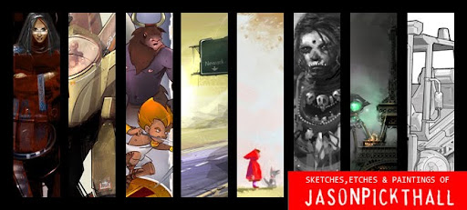 Jason Pickthall's Art Blog