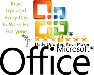 Microsoft Office Daily Updated Keys Maker 2013 v1.0