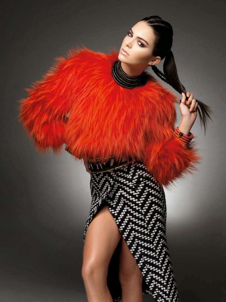 Kendall Jenner & Olivier Rousteing for The Sunday Times Style